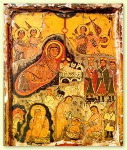 Nativity Icon, 7th Century, St. Catherine's Monastery, Egypt