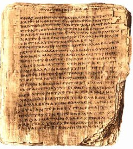 Gospel of John, Codex Sheef Manuscript; Source Unknown