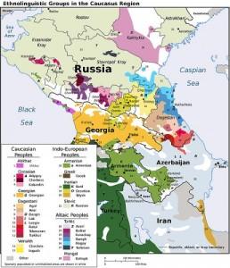 """The Caucuacus Region: Source of """"Caucasian Race"""""""