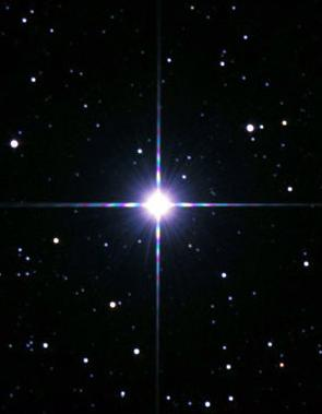 The Bethlehem Star? No, but Another Beautiful Candidate. 3rd Brightest Star. And It's a Double Star; Its Companion is a White Dwarf.  Photo: NASA.